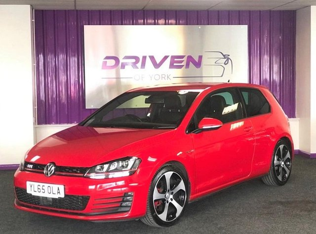 2016 65 VOLKSWAGEN GOLF 2.0 GTI LAUNCH DSG 3d 218 BHP