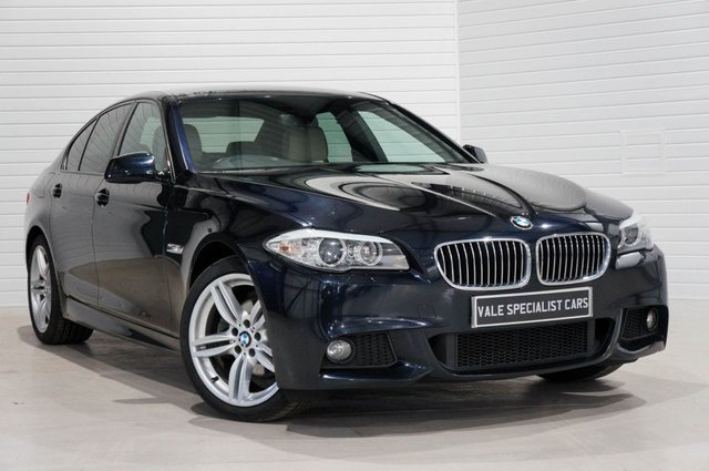 2012 62 BMW 5 SERIES 2.0 520D M SPORT (PRO MEDIA SAT NAV)