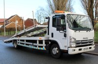 USED 2012 12 ISUZU TRUCKS FORWARD 5.2 N75.190 L 190 BHP SERVICE HISTORY + RUBBER BUMP STOPS ON TOP DECK HEADBOARD + STOW-AWAY LOADING RAMPS + RADIO & CD PLAYER WITH 3.5MM AUX-INPUT + ELECTRIC WINDOWS (ONE-TOUCH UP & DRIVER'S WINDOW) + HEATED DOOR MIRRORS + PTO WITH ENGINE SPEED ADJUSTER + AMBER DOUBLE LIGHT BAR CAB ROOF BEACON + DIGITAL TACHOGRAPH + FOLD-DOWN PASSENGER SEAT BACKS WITH TRAY ON MIDDLE SEAT BACK + TOWBAR WITH TOWBALL COUPLING AND 7-PIN ELECTRICS + CHROME RADIATOR GRILLE + ZINC GALVANISED CAB FRAME STRUCTURE + FAST ENGINE IDLE SWITCH