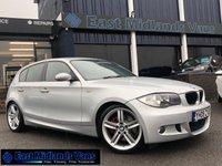 2008 BMW 1 SERIES 2.0 123D M SPORT 5d 202 BHP £4390.00