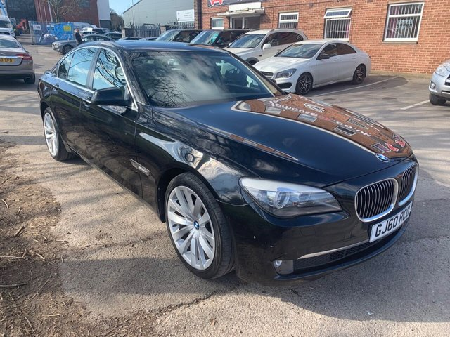 USED 2010 60 BMW 7 SERIES 3.0 730D SE 4d 242 BHP DIESEL EXCELLENT EXAMPLE WITH ALLOY WHEELS, LEATHER INTERIOR, ELECTRIC WINDOWS, ELECTRIC DOOR MIRRORS, RADIO/CD, CRUISE CONTROL, CLIMATE CONTROL