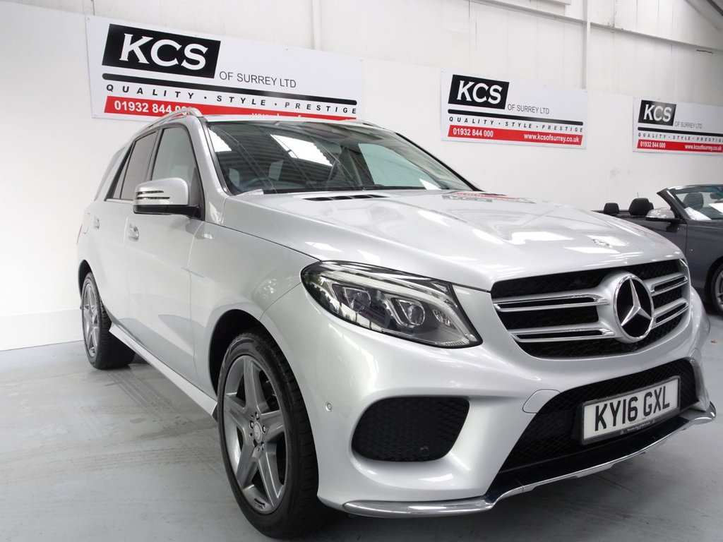 USED 2016 16 MERCEDES-BENZ GLE-CLASS 3.0 GLE 350 D 4MATIC AMG LINE 5d 255 BHP SAT NAV / HTD LEATHER / CAMERA