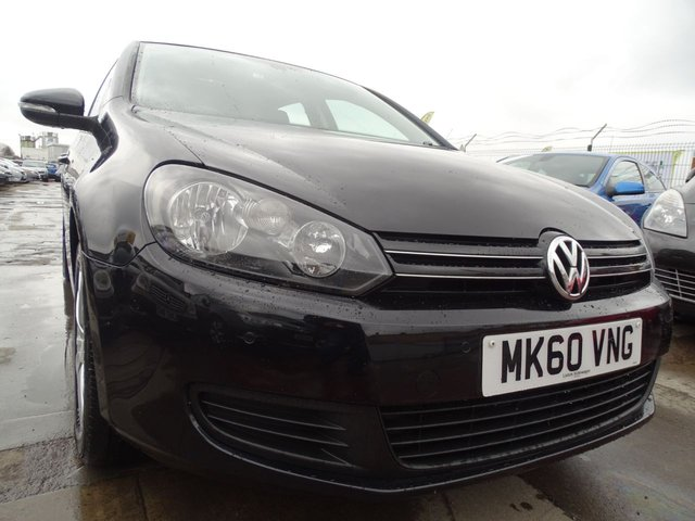 USED 2010 60 VOLKSWAGEN GOLF 1.6 SE TDI 5d DRIVES £30 ROAD TAX FOR THE YEAR