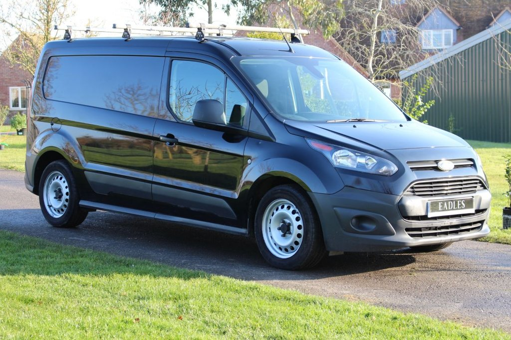 USED 2017 67 FORD TRANSIT CONNECT 1.5 210 P/V 74 BHP Long Wheel Base Top spec SAT NAV REVERSE CAMERA DAB RADIO PLY LINING + RACKING -