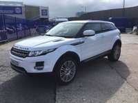 USED 2012 61 LAND ROVER RANGE ROVER EVOQUE 2.2 SD4 PURE 3d 190 BHP