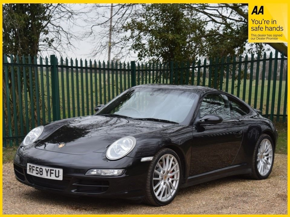 USED 2009 58 PORSCHE 911 3.8 CARRERA 4 S 2d 350 BHP **12 MONTHS MOT, HEATED SEATS, BOSE SOUND SYSTEM**