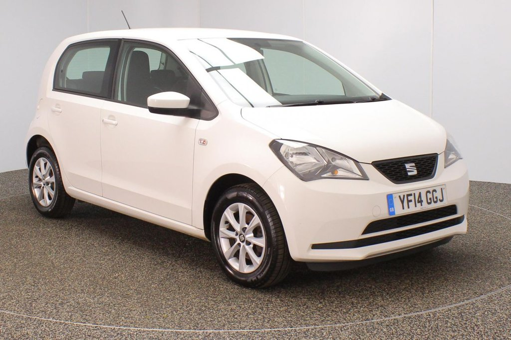 USED 2014 14 SEAT MII 1.0 TOCA 5DR 59 BHP SERVICE HISTORY + £20 12 MONTSH RAOD TAX + AIR CONDITIONING + RADIO/CD + ELECTRIC WINDOWS + ELECTRIC MIRRORS + 14 INCH ALLOY WHEELS