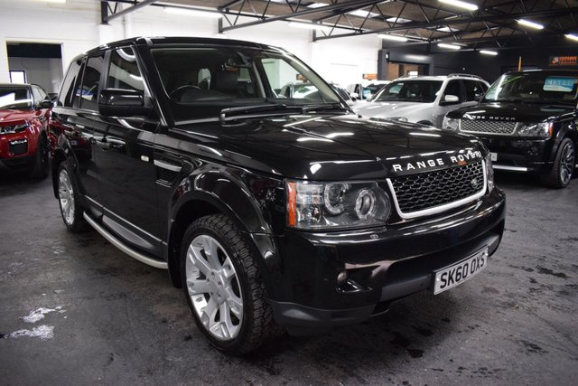 USED 2010 60 LAND ROVER RANGE ROVER SPORT 3.0 TDV6 HSE 5d 245 BHP LOVELY CONDITION THROUGHOUT - LEATHER - NAV - AT GRABBER TYRES - R/CAMERA - SIDE STEPS - 20 INCH ALLOYS