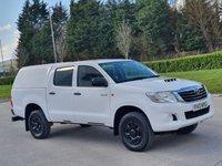 USED 2012 12 TOYOTA HI-LUX 2.5 HL2 4X4 D-4D DCB 142 BHP