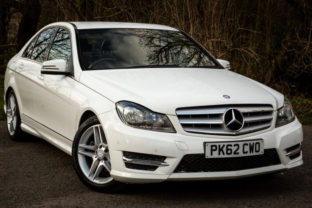 USED 2012 62 MERCEDES-BENZ C-CLASS 1.6 C180 BLUEEFFICIENCY AMG SPORT 4d 154 BHP