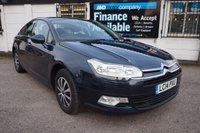 USED 2014 14 CITROEN C5 1.6 E-HDI AIRDREAM VTR ETG6 4d 112 BHP Service History, 1 Owner, Automatic, £30 Road Tax