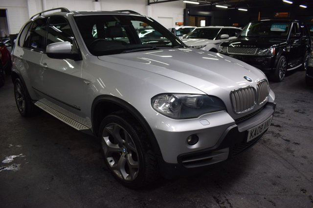 USED 2008 08 BMW X5 3.0 SD SE 5d 282 BHP TWIN TURBO GREAT VALUE 282BHP TWIN TURBO SE - FULL LEATHER - 19 INCH ALLOY WHEELS - SIDE STEPS - ROOF RAILS