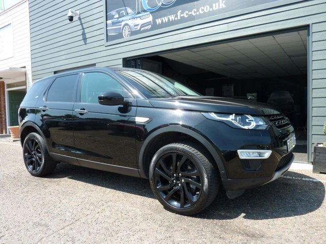 2016 66 LAND ROVER DISCOVERY SPORT 2.0 TD4 HSE LUXURY 5d 180 BHP AUTO