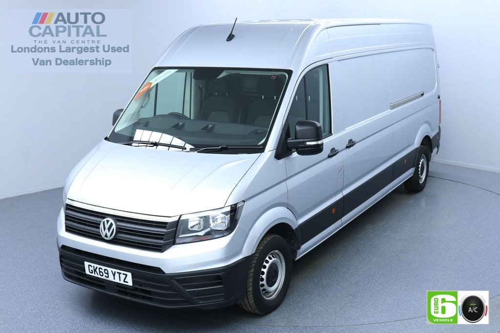 USED 2019 69 VOLKSWAGEN CRAFTER 2.0 CR35 RWD TRENDLINE 138 BHP LWB EURO 6 ENGINE AIR CON   BUSINESS PACK   FRONT-REAR PARKING SENSORS