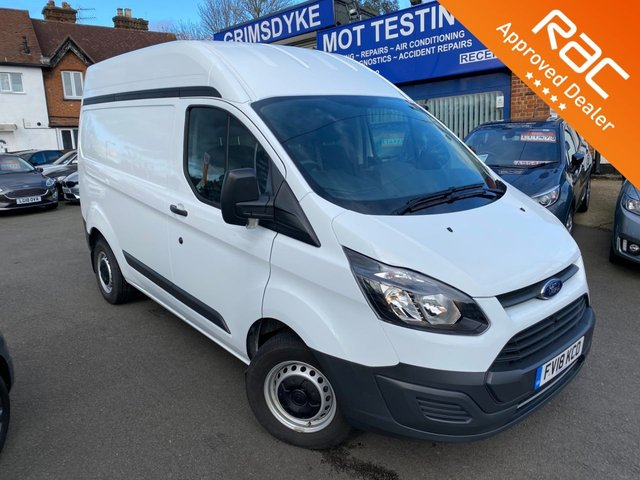 2018 18 FORD TRANSIT CUSTOM 2.0 290 HR P/V 129 BHP
