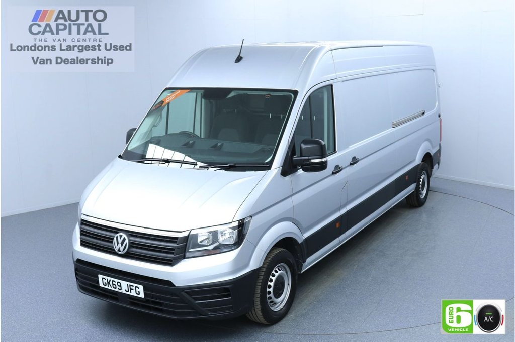 USED 2019 69 VOLKSWAGEN CRAFTER 2.0 CR35 RWD TRENDLINE 140 BHP LWB Euro 6 Low Emission Finance Packages Available | Business Pack | Air Con | Park Pilot | EBA+ESP
