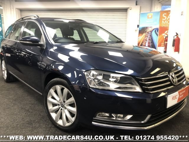2013 13 VOLKSWAGEN PASSAT 2.0 HIGHLINE TDI BLUEMOTION TECHNOLOGY 5d 139 BHP