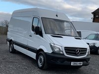USED 2016 66 MERCEDES-BENZ SPRINTER 2.1 314 CDI 140 BHP EURO 6 MWB FACELIFT BLUEEFFICIENCY MWB, EURO 6, ONE OWNER, FULL MERCEDES DEALER HISTORY,