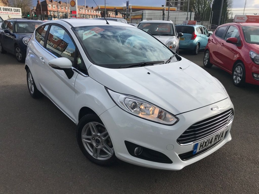 USED 2014 14 FORD FIESTA 1.0L ZETEC 3d AUTO 100 BHP RAC APPROVED AUTOMATIC!!!