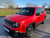 2016 JEEP RENEGADE 1.6 M-JET SPORT 1 OWNER 24000 MILES FULL JEEP HISTORY  £8795.00