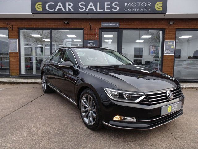 USED 2015 64 VOLKSWAGEN PASSAT 2.0 GT TDI BLUEMOTION TECHNOLOGY DSG 4d 188 BHP FULL VW SERVICE HISTORY, SAT NAV, F&R PARKING SENSORS, DAB RADIO, £30 ROAD TAX, DEMO & 1 OWNER, READ OUR 5 STAR REVIEWS ON AUTO TRADER