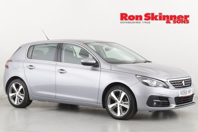 View our 2018 68 PEUGEOT 308 1.2 S/S ALLURE 5d 110 BHP