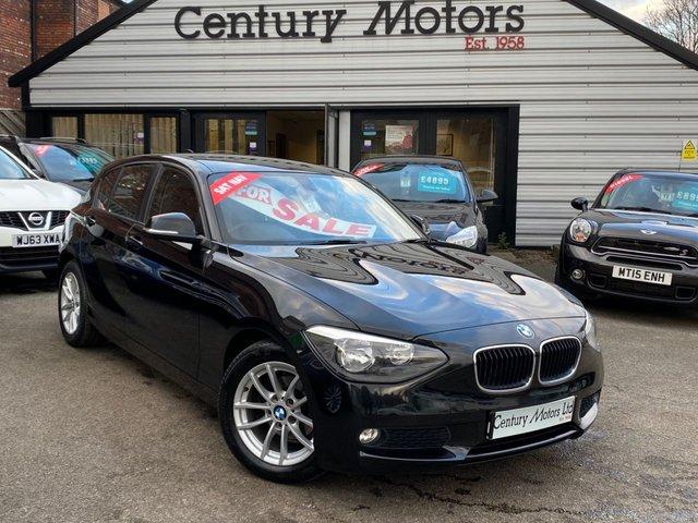 2013 63 BMW 1 SERIES 1.6 116D EFFICIENTDYNAMICS BUSINESS 5d - SAT NAV