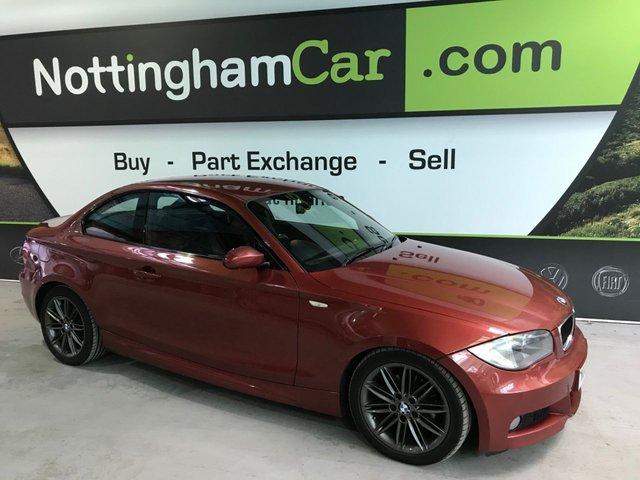 USED 2008 08 BMW 1 SERIES 2.0 120D M SPORT 2d 175 BHP