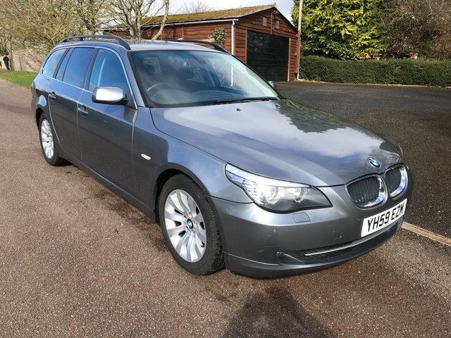 USED 2009 59 BMW 5 SERIES 2.0 520D SE BUSINESS EDITION TOURING 5d 175 BHP **FULL SERVICE HISTORY**MOT**LEATHER SEATS**LOVELY SPEC**