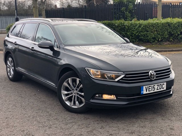2015 15 VOLKSWAGEN PASSAT 1.6 SE BUSINESS TDI BLUEMOTION TECH DSG 5d 119 BHP