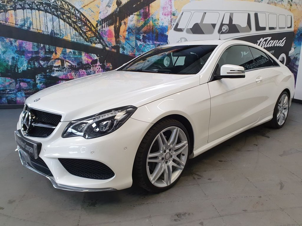 USED 2016 65 MERCEDES-BENZ E-CLASS 3.0 E 350 D AMG LINE EDITION 2d 255 BHP