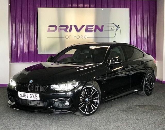 2017 67 BMW 4 SERIES 2.0 420D M SPORT GRAN COUPE 4d 188 BHP