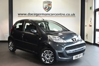USED 2011 61 PEUGEOT 107 1.0 URBAN 5DR 68 BHP Finished in a stunning metallic grey. Upon opening the drivers door you are presented with cloth upholstery, full service history, auxiliary port, radio/cd, electric windows, heated rear window, ULEZ EXEMPT
