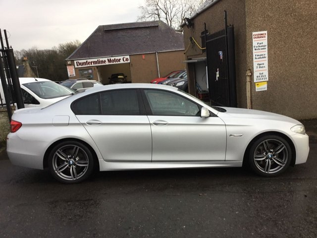 USED 2011 11 BMW 5 SERIES 3.0 525D M SPORT 4d 202 BHP ++FOR FULL DETAILS CALL JOHN ON 07972385205++