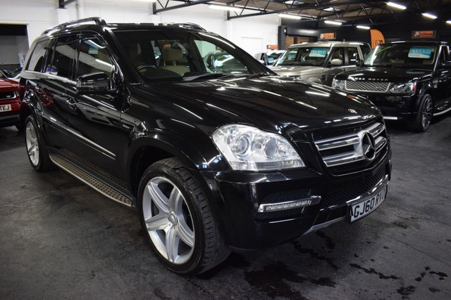 USED 2010 60 MERCEDES-BENZ GL CLASS 3.0 GL350 CDI BLUEEFFICIENCY 5d 224 BHP HUGE SPEC - 7 MB SERVICES TO 82K - OVER £10K FACTORY OPTIONS - SPORTS STYLING PACK - REAR ENTERTAINMENT - 21 INCH AMG ALLOYS
