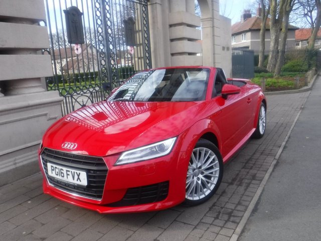 USED 2016 16 AUDI TT 2.0 TFSI SPORT 2d 227 BHP PLEASE PHONE FOR MORE INFORMATION ON THIS VEHICLE 01253 773832