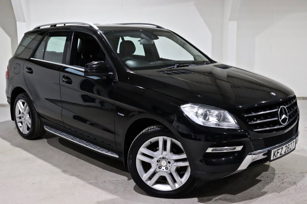 USED 2012 MERCEDES-BENZ M-CLASS 3.0 ML350 BLUETEC SPECIAL EDITION 5d 258 BHP
