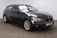 USED 2015 15 BMW 1 SERIES 1.6 116D EFFICIENTDYNAMICS 5DR 114 BHP FULL SERVICE HISTORY + FREE 12 MONTHS ROAD TAX + SATELLITE NAVIGATION + PARKING SENSOR + BLUETOOTH + CRUISE CONTROL + AIR CONDITIONING + MULTI FUNCTION WHEEL + DAB RADIO + ELECTRIC WINDOWS + ELECTRIC MIRRORS + 16 INCH ALLOY WHEELS