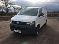 USED 2013 13 VOLKSWAGEN TRANSPORTER 2.0 T28 TDI BLUEMOTION TECHNOLOGY 84 BHP
