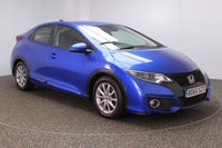 USED 2015 65 HONDA CIVIC 1.6 I-DTEC SE PLUS NAVI 5DR 1 OWNER 118 BHP FULL SERVICE HISTORY + FREE 12 MONTHS ROAD TAX + SATELLITE NAVIGATION + REVERSE CAMERA + PARKING SENSOR + BLUETOOTH + CRUISE CONTROL + CLIMATE CONTROL + MULTI FUNCTION WHEEL + DAB RADIO + ELECTRIC WINDOWS + ELECTRIC/FOLDING/HEATED DOOR MIRRORS + 16 INCH ALLOY WHEELS