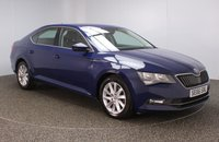 USED 2017 66 SKODA SUPERB 2.0 SE TDI DSG 5DR AUTO 1 OWNER 148 BHP FULL SERVICE HISTORY + £30 12 MONTHS ROAD TAX + SATELLITE NAVIGATION + BLUETOOTH + CRUISE CONTROL + CLIMATE CONTROL + MULTI FUNCTION WHEEL + DAB RADIO + ELECTRIC WINDOWS + ELECTRIC/HEATED/FOLDING DOOR MIRRORS + 17 INCH ALLOY WHEELS