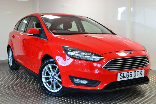 USED 2017 66 FORD FOCUS 1.5 ZETEC TDCI 5d 118 BHP GREAT VALUE FOCUS DIESEL WITH NIL ROAD TAX