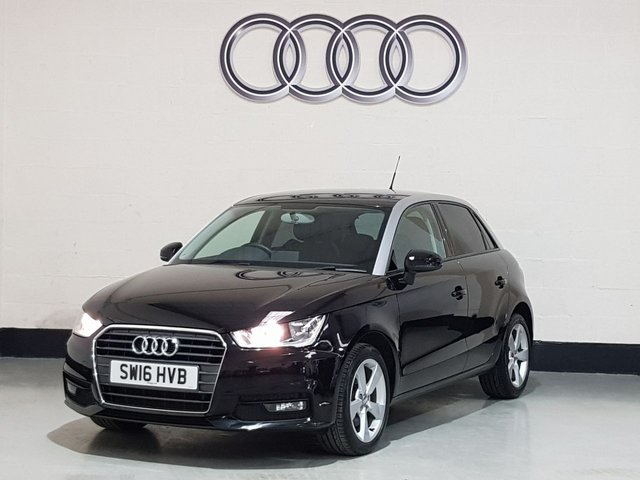 "USED 2016 16 AUDI A1 1.4 SPORTBACK TFSI SPORT 5d 123 BHP 1 Owner/Bluetooth/Privacy Glass/16""Alloys/£30 Road Tax"