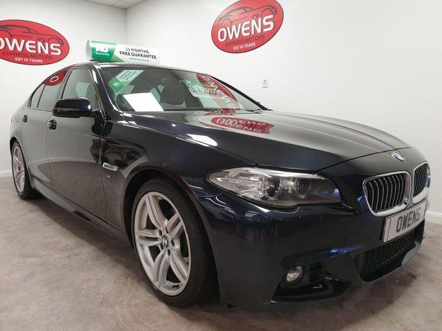 2014 63 BMW 5 SERIES 2.0 520D M SPORT 4d 181 BHP