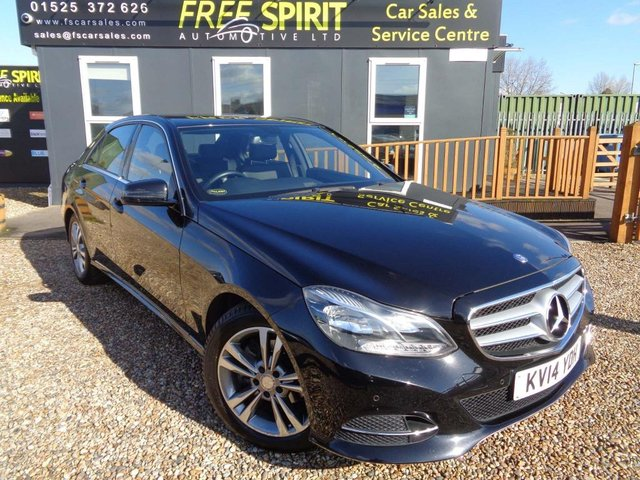 USED 2014 14 MERCEDES-BENZ E-CLASS 2.1 E220 CDI SE 7G-Tronic Plus 4dr Full MB History, Great spec