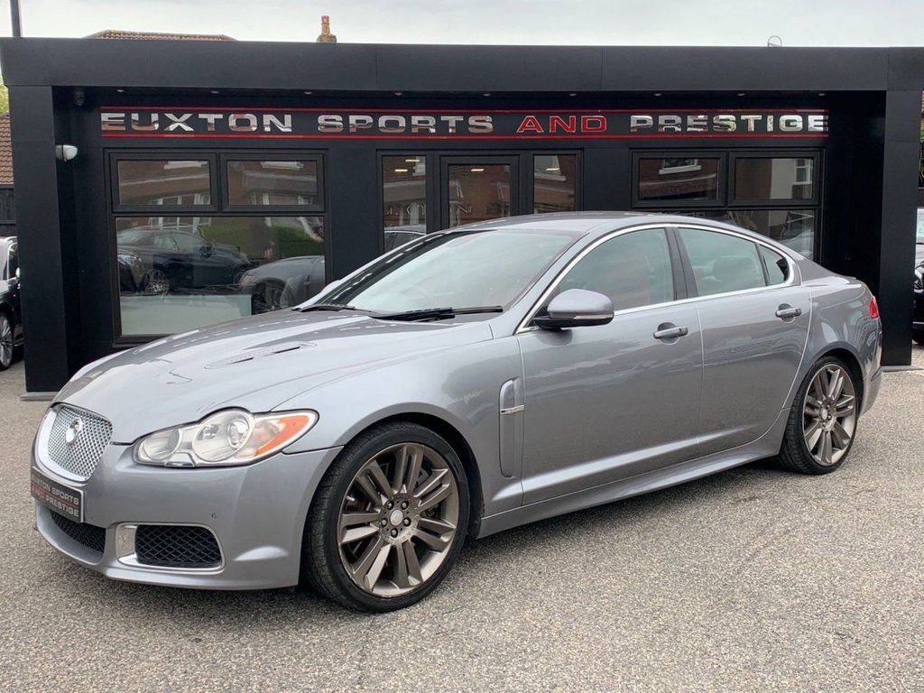 USED 2009 59 JAGUAR XF 5.0 V8 Supercharged XFR 4dr 8 x Services