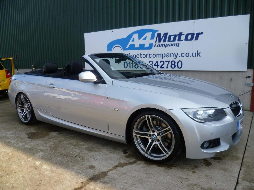 USED 2011 61 BMW 3 SERIES 3.0 325d M Sport 2dr CONVERTIBLE -  115 + REVIEWS