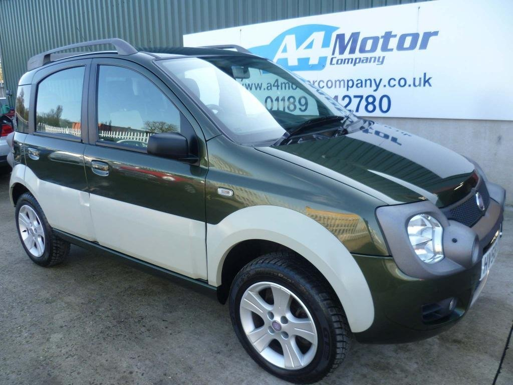 USED 2008 58 FIAT PANDA 1.3 MultiJet 16v Cross 4x4 5dr 115 + REVIEWS YOU CAN TRUST!!