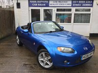 USED 2006 06 MAZDA MX-5 1.8 I 2d 125 BHP 92K 16'ALLOYS 5SPD HEATED LEATHER AIR/CON ELEC WINDOWS & MIRRORS