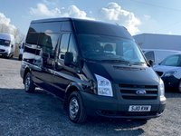 USED 2010 10 FORD TRANSIT 2.2 300M MHR MWB CREW VAN 6 SEATER HIGH ROOF  MWB, CREW CAB, 6 SEATER, HIGH ROOF, SERVICE HISTORY